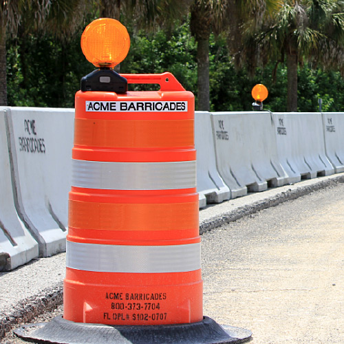 Temporary Traffic Control Devices